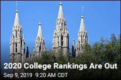 2020 College Rankings Are Out