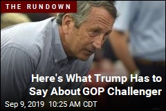 Here's What Trump Has to Say About Mark Sanford