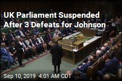Johnson Suspends UK Parliament After Brexit Defeat