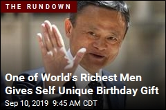 One of World's Richest Men Gives Self Unique Birthday Gift