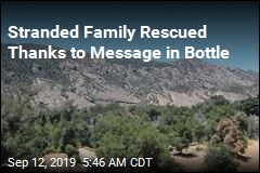 Stranded Hikers Saved After Putting Message in Bottle