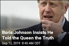Boris Johnson: Nope, I Didn't Lie to the Queen