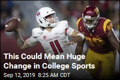 This Could Mean Big Money for College Athletes