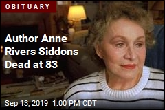 Author Anne Rivers Siddons Dead at 83
