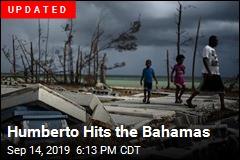 Battered Bahamas Face New Storm Growing Into Hurricane