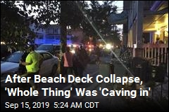 Beach Deck Collapse Injures at Least 22