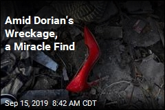 Amid Dorian's Wreckage, a Miracle Find