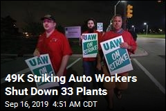 49K Auto Workers Go on Strike