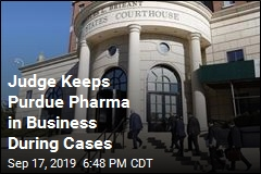 Purdue Pharma to Operate During Cases