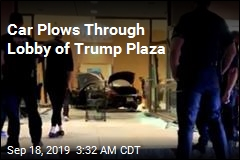 Car Plows Through Lobby of Trump Plaza
