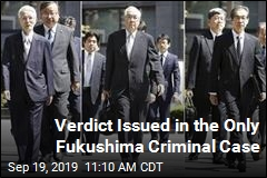 Outcome of Only Fukushima Criminal Case: Not Guilty