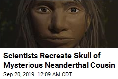 Scientists Recreate Skull of Mysterious Neanderthal Cousin