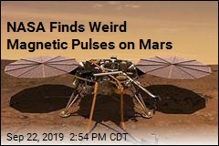 Weird Magnetic Pulses Found on Mars
