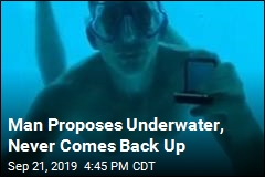 Underwater Proposal Goes Horribly Wrong