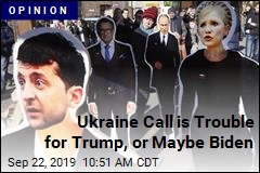 Ukraine Call is Trouble for Trump, or Maybe Biden