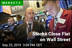 Stocks Close Flat on Wall Street