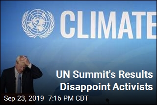 UN Summit's Results Disappoint Activists