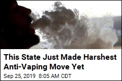 This State Just Made Harshest Anti-Vaping Move Yet