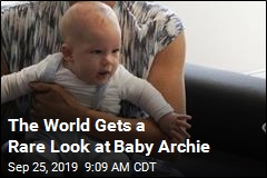 The World Gets a Rare Look at Baby Archie