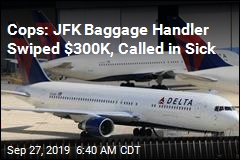 JFK Baggage Handler Accused of Swiping $300K