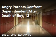 Angry Parents Confront Superintendent After Death of Boy, 13
