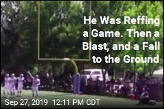 He Was Reffing a Game. Then a Blast, and a Fall to the Ground