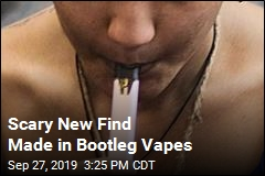 Bootleg Vapes Contain Something 'Very Toxic'