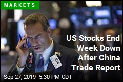 US Stocks End Week Down After China Trade Report
