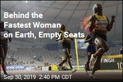 Behind the Fastest Woman on Earth, Empty Seats