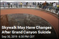 Grand Canyon Suicide May Bring Skywalk Changes