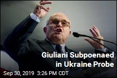 House Democrats Subpoena Giuliani