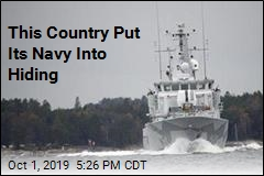 This Country Put Its Navy Into Hiding