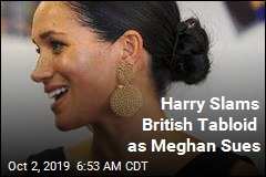 Duchess Meghan Sues British Tabloid