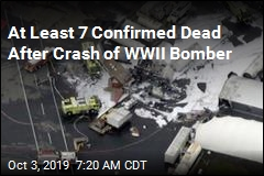 7 Confirmed Dead in Crash of WWII Bomber