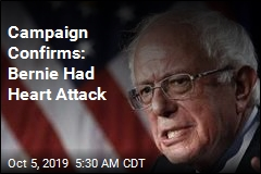 Campaign Confirms: Bernie Had Heart Attack