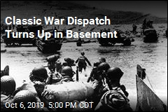 Classic D-Day Dispatch Turns Up in Basement
