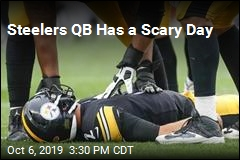 Steelers QB Has a Scary Day