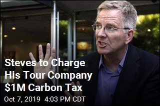 Rick Steves to Pay Voluntary $1M Carbon Tax