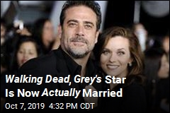 Walking Dead , Grey's Star Is Now Actually Married