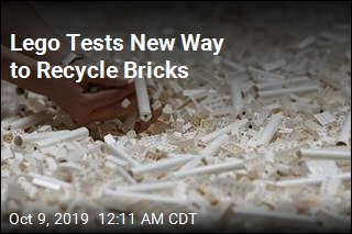 Lego Tests New Way to Recycle Bricks