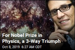 Nobel Winners 'Took on the Cosmos,' Sought Unknown Worlds