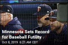 Minnesota Sets Record for Baseball Futility