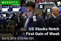 US Stocks Notch First Gain of Week