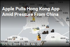 Apple Pulls Hong Kong App Amid Pressure From China