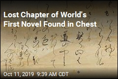 Lost Chapter of World's First Novel Found in Chest