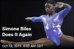 Simone Biles Does It Again