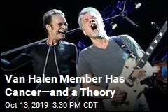 Van Halen Member Has Cancer—and a Theory