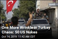 One More Wrinkle in Turkey Chaos: 50 US Nukes