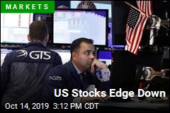 US Stocks Edge Down
