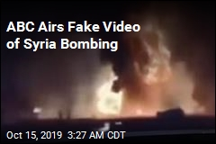 ABC Airs Fake Video of Syria Bombing